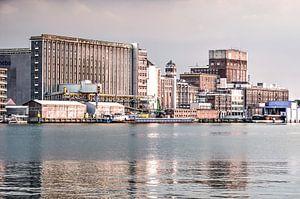 Silo a Rotterdam sur
