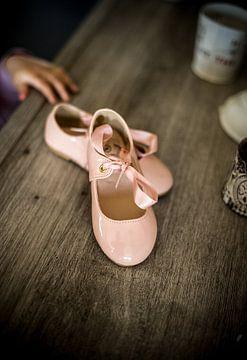 kleine bruid schoenen van