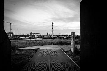 Oostende Black&white von Wim Byl