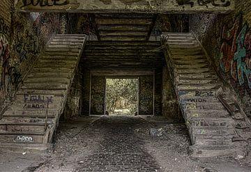 Treppe rückläufig von Ans Bastiaanssen