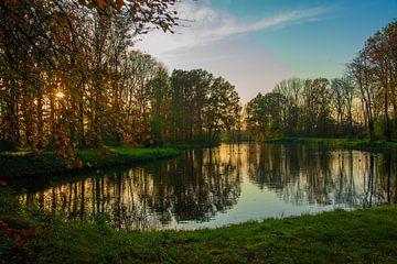 Uitzicht bij bos Ter Hooge, Middelburg. van Hartsema fotografie