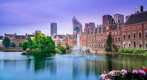 Den Haag - Hofvijver in de lente