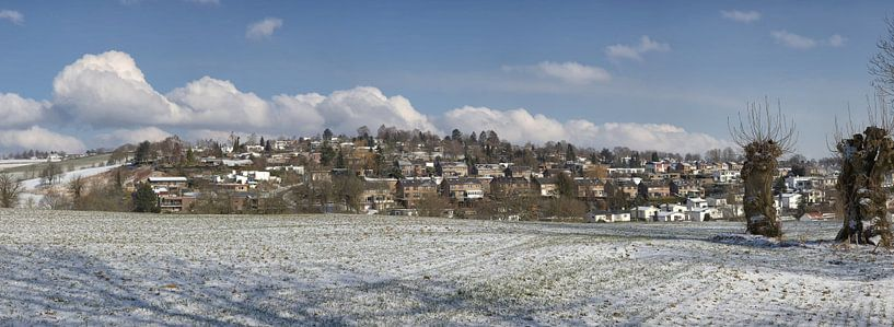 Panorama van het Hulsveld in Simpelveld van John Kreukniet