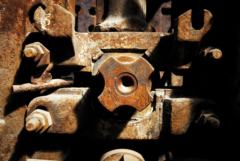 Moteur métallique d'embrayage d'arbre sur Jan Brons