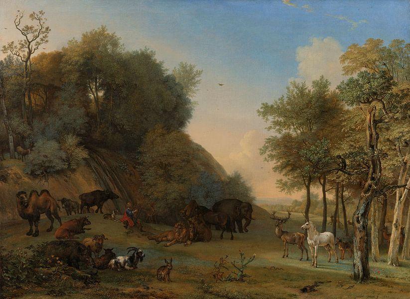 Orpheus en de dieren, Paulus Potter, 1650