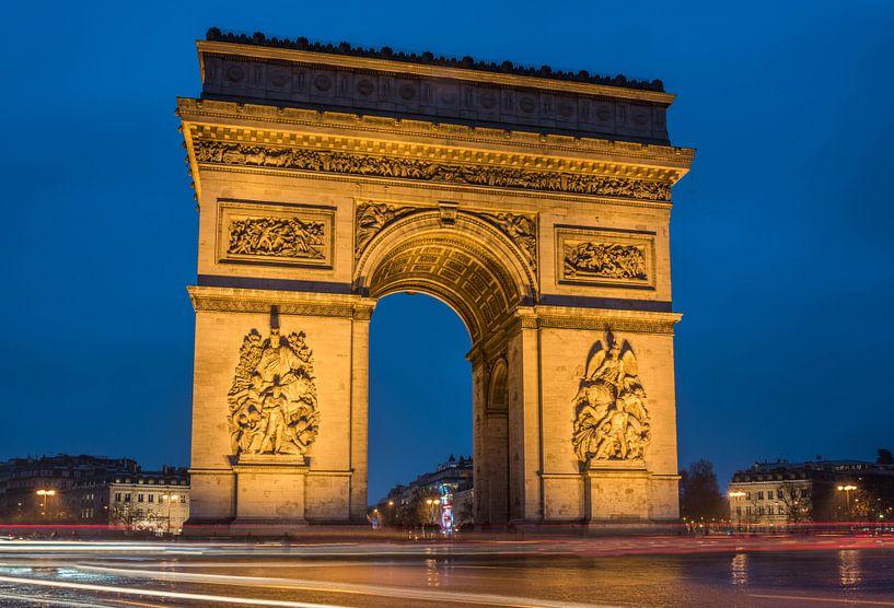 Arc de Triomphe Paris van Hans Altenkirch