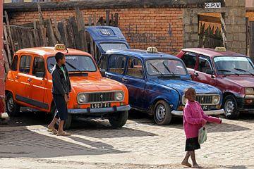 Renault 4 taxi's van