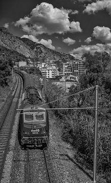 Trein van Ventimiglia naar Menton