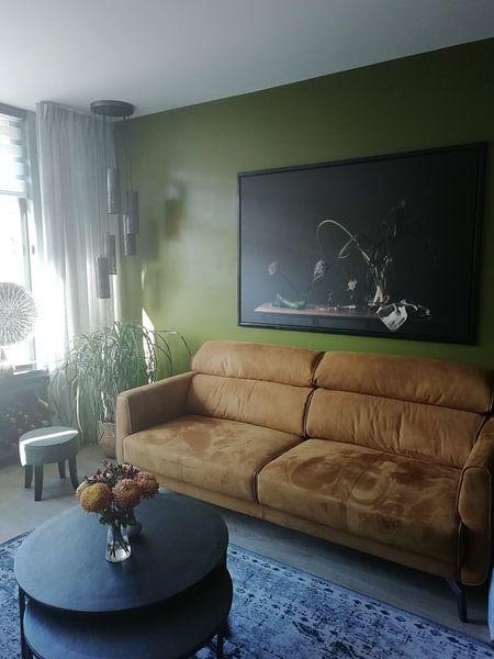 Klantfoto: Stilleven in 't groen, vtwonen van Monique van Velzen