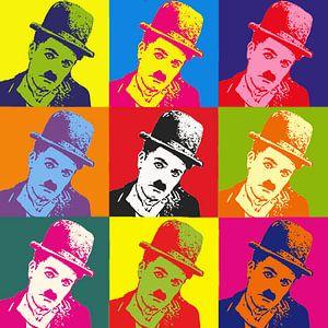 Charlie Chaplin Popart