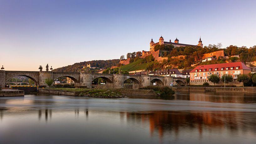 Würzburg in Beieren, Duitsland van Adelheid Smitt