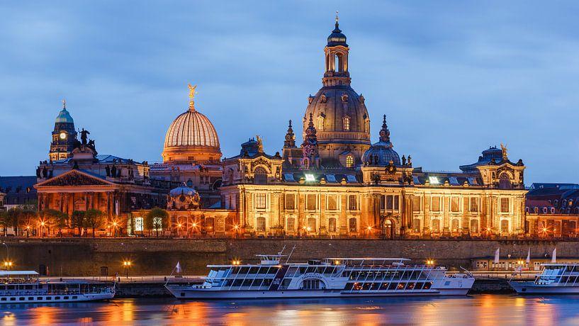 Frauenkirche, Dresden van Henk Meijer Photography