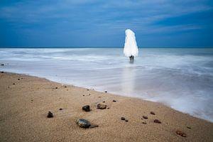 Winter time on the Baltic Sea coast