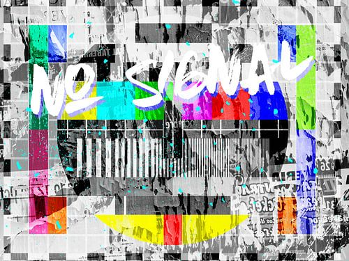 Testbeeld – No-Signal! van
