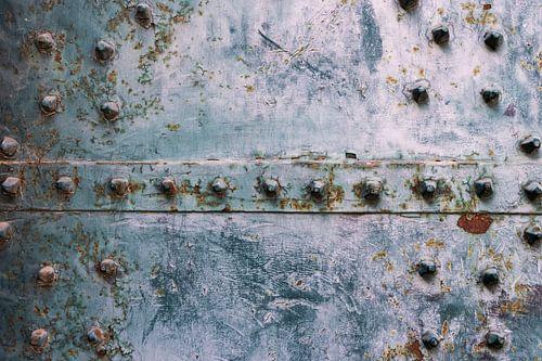 Detail Steel door von Clazien Boot
