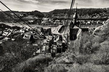 Schwimmende Strecke Zitadelle Dinant von Rob Boon