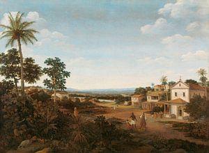 Landschaft in Brasilien, Frans Jansz Post