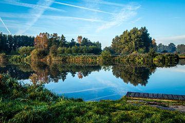 Twiske mit Spiegel Wasser von Jaap Mulder