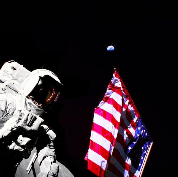 Maanlanding van Space and Earth