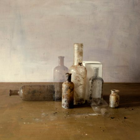 Stilleven met flesjes