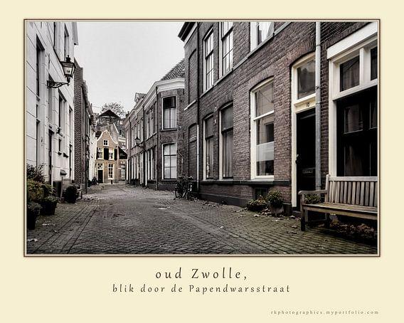 oud Zwolle, Papendwarsstraat van Ralf Köhnke