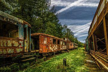 Verloren plaats Spoorweg in Bohemen van Johnny Flash