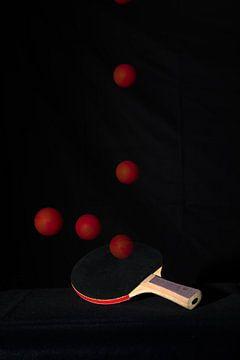 Tischtennis mit einem Ball von John Driessen