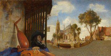 Ein Blick auf Delft, Carel Fabritius