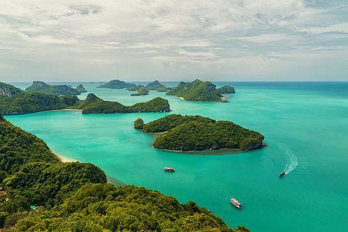 Ang Thong National Marine Park islands van