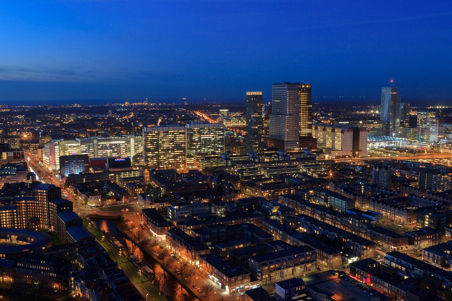 skyline van Den Haag van gaps photography