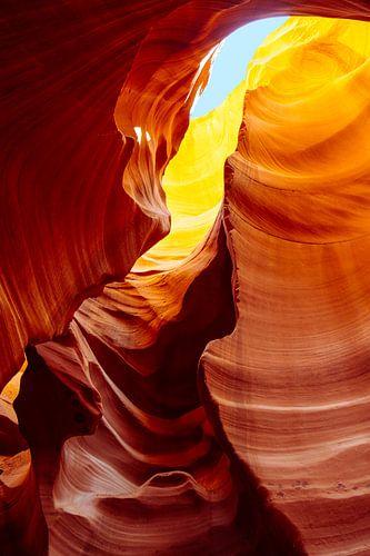 Lower Antelope canyon van