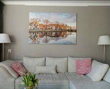 Photo de nos clients: Spaarndam sur Adriaan Westra, sur toile