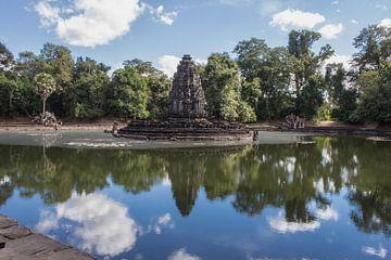 Jayatataka Temple - Cambodia Siem Reap van Anne Zwagers