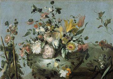 Stillleben mit Blumen, Anonym von Meesterlijcke Meesters