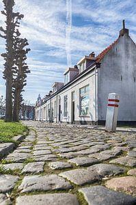 Ouderwets straatje in Bergen op Zoom