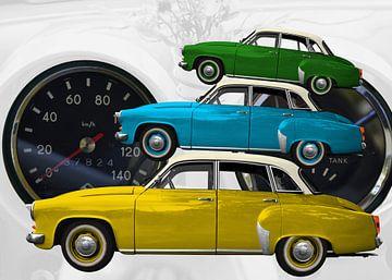 Wartburg 312 trio van aRi F. Huber
