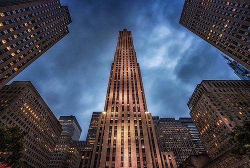Rockefeller center in New York City van Ronald Westerbeek