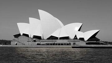 Opernhaus Sydney - Australien (Schwarz-Weiß) von Be More Outdoor