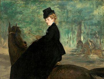Der Amazonas - Porträt von Marie Lefébure, Édouard Manet