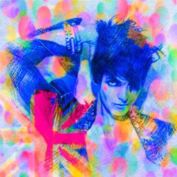 Nena Punk Edition Pop Art PUR Serie van