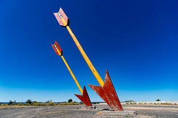 Route 66 Stimmungsplatte von Humphry Jacobs