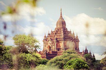 Htilo Minto Temple, Bagan, Myanmar. Azië van Sven Wildschut