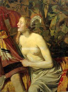 Jan van Bijlert, Fragment einer Wandverkleidung venus und adonis