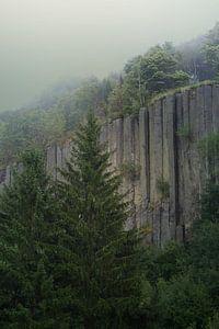 Nebelgebirge von Heike Hultsch