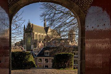 Hooglandse Kerk te Leiden van René Rollema