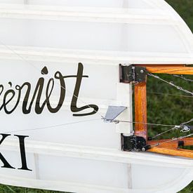 Staartvlak van een Blériot XI van Wim Stolwerk