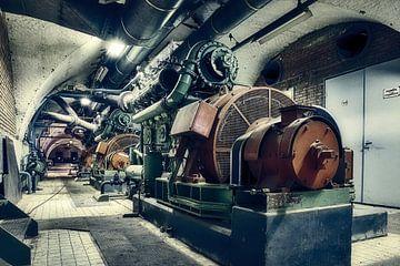 Satz über das Industrieerbe Den Helder von eric van der eijk