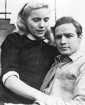 Marlon Brando und Eva Marie Saint von Bridgeman Images