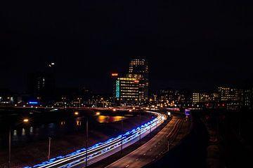 Verlichte snelweg von Max De Rooij