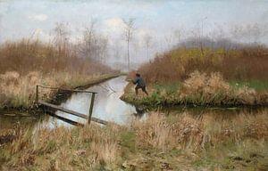 Die Jagd, Emile Claus